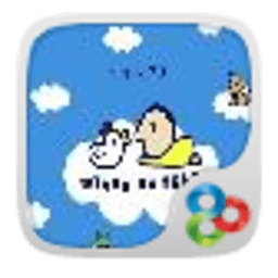 GO主题-小男孩 工具 App LOGO-硬是要APP