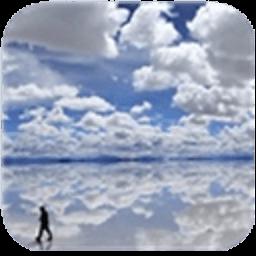 蔚蓝天空白云动态壁纸 工具 LOGO-玩APPs