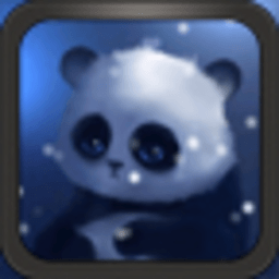 可爱小熊猫-绿豆秀秀动态壁纸 工具 App LOGO-APP試玩