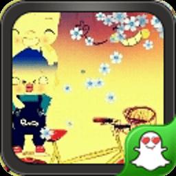 幸福小猪-绿豆秀秀动态壁纸 工具 App LOGO-APP試玩