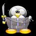 愤怒的企鹅