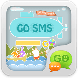 GO短信2周年庆个性即显主题 工具 App LOGO-硬是要APP