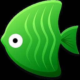 休閒必備App 碰碰鱼 LOGO-綠色工廠好玩App