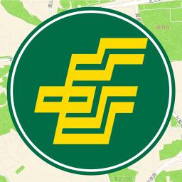 中国邮局地图 交通運輸 App LOGO-硬是要APP