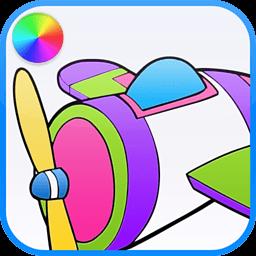 飞机彩色书 書籍 App LOGO-APP開箱王