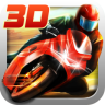 3D摩托飞车图标