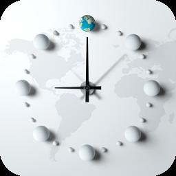 世界时间 工具 App LOGO-硬是要APP