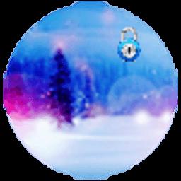 雪景天气动态壁纸锁屏 工具 App LOGO-硬是要APP