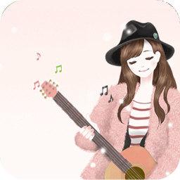 弹吉他的美少女美图的动态壁纸 工具 LOGO-玩APPs
