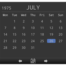 日历小工具 工具 App LOGO-APP試玩