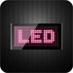 安卓移动LED显示屏 工具 App LOGO-硬是要APP