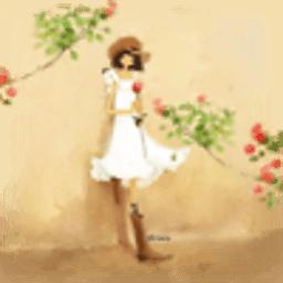 手绘少女动态壁纸 工具 App LOGO-APP試玩