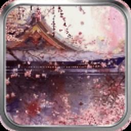 桃花亭-绿豆动态壁纸 工具 App LOGO-APP試玩