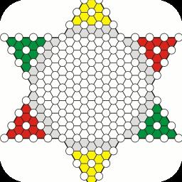 中国跳棋 棋類遊戲 LOGO-玩APPs