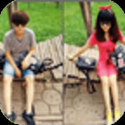 左右情侣装主题锁屏 工具 App LOGO-APP試玩