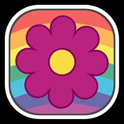 扭曲的颜色动态壁纸 工具 App LOGO-APP試玩