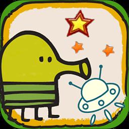 涂鸦跳跃太空版 冒險 App LOGO-APP試玩