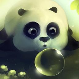 熊猫噗通动态壁纸 工具 App LOGO-硬是要APP