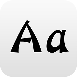 POP字体应用 工具 App LOGO-硬是要APP