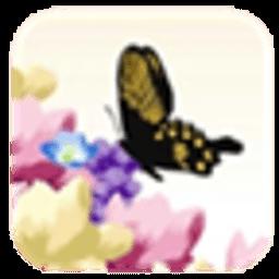 浪漫蝴蝶动态壁纸 工具 App LOGO-硬是要APP