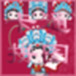 卡通京剧拼图 策略 App LOGO-APP試玩