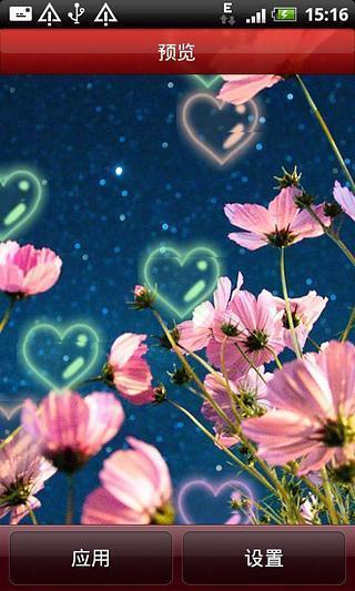 清新唯美花卉动态壁纸