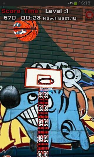 投你妹的篮球 shoot ball