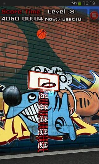 投你妹的篮球 shoot ball|玩休閒App免費|玩APPs