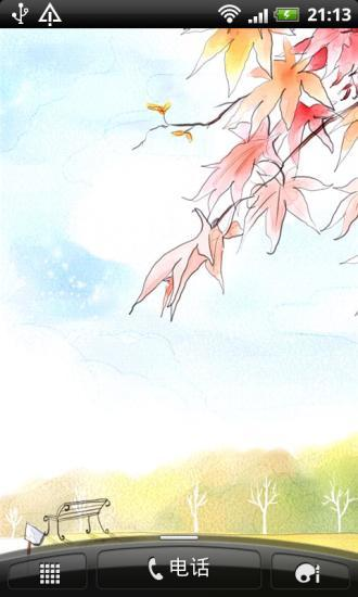清新插画iphone动态壁纸
