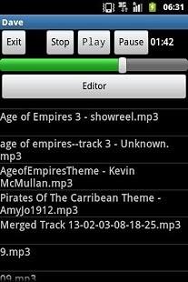 MP3剪切播放器