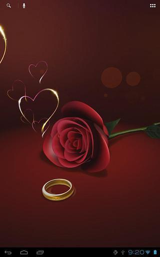 玫瑰花3D壁纸