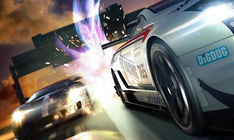 3D城镇高速赛车