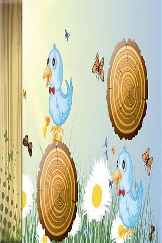 鸟幼儿的记忆游戏