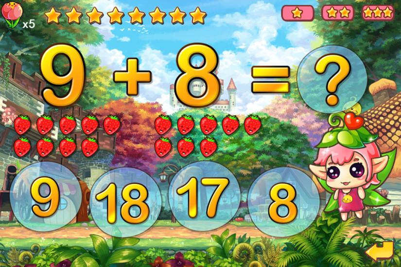 宝宝学数学-免费儿童加法教育游戏幼儿数字