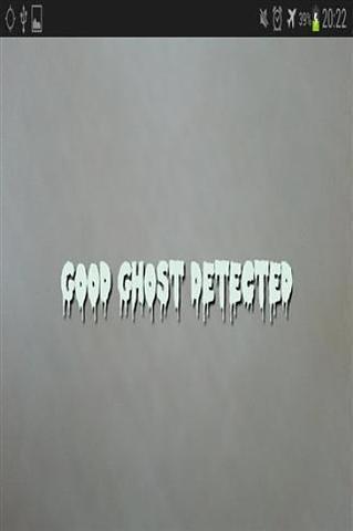相机鬼魂探测器