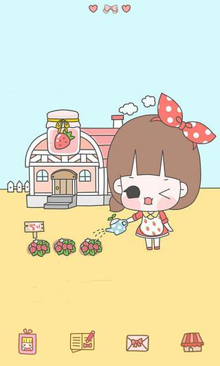GO主题-小女孩爱劳动