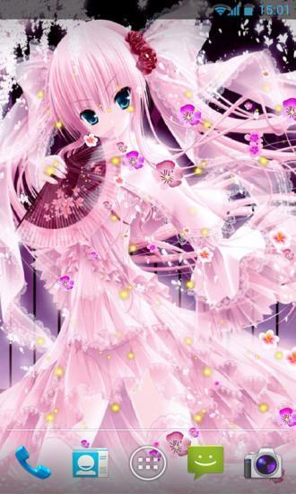 樱花女神动态壁纸