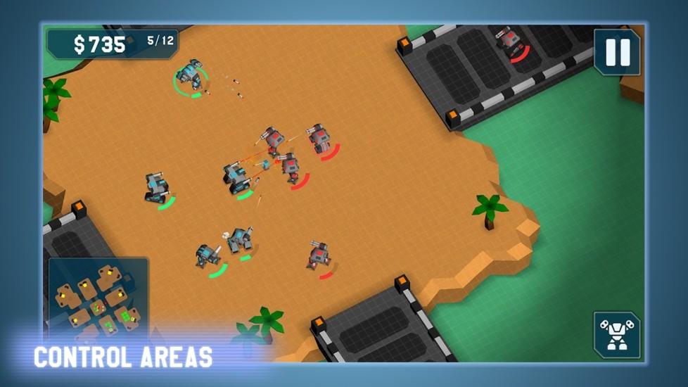 玩免費策略APP|下載机械战争 MechCom - 3D RTS app不用錢|硬是要APP
