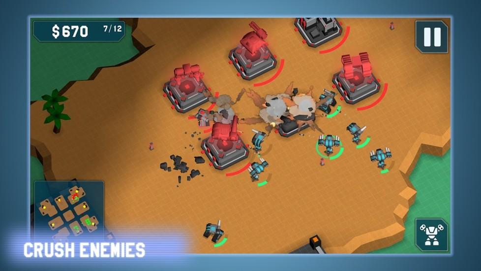 【免費策略App】机械战争 MechCom - 3D RTS-APP點子