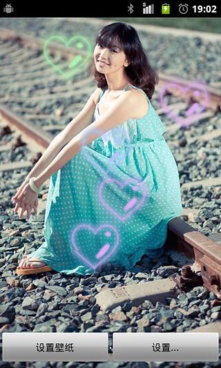 小清新女生写真动态壁纸动态壁纸