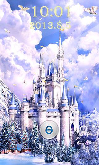 梦幻城堡锁屏