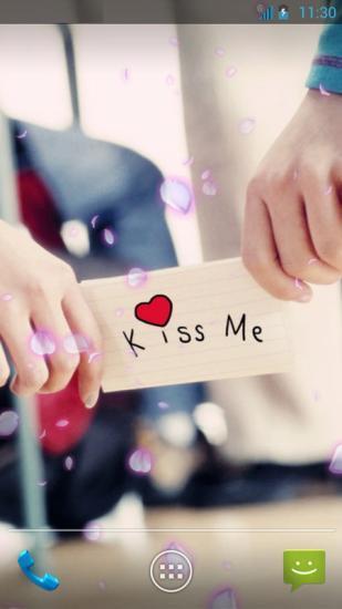 KissMe动态壁纸