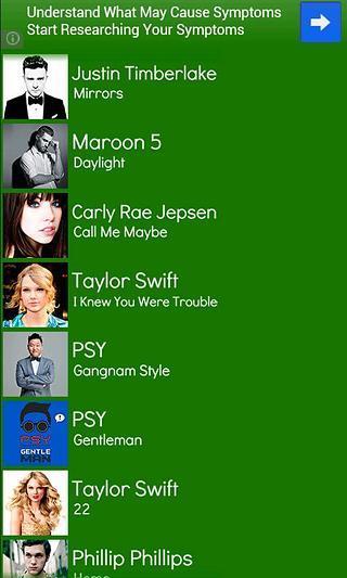 Music Lyrics 2013 FREE