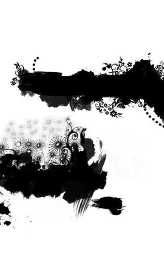 E主题:中国风之水墨画