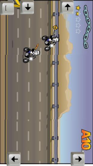 疯狂摩托车比赛