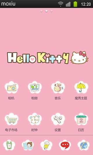 Hello Kitty魔秀桌面主题(壁纸美化软件)