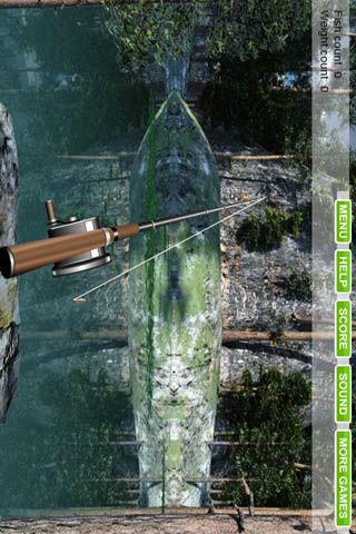 3D湖边钓鱼