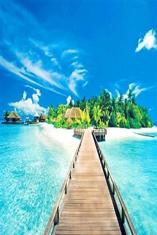 热带海岛风光