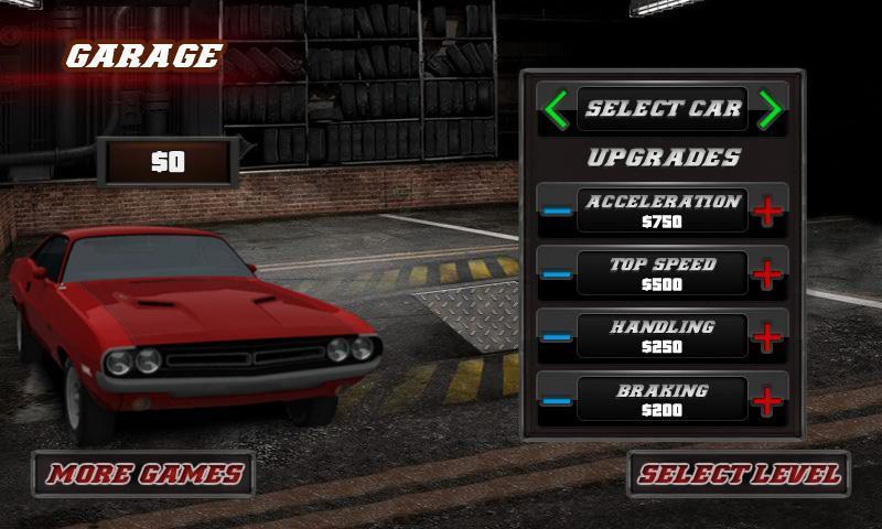 3D肌肉赛车游戏