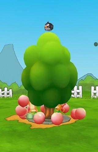 猴子偷桃3D互动壁纸
